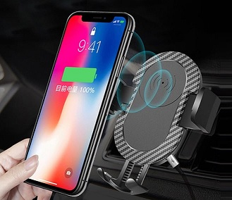 WS112 QI wireless charger holder 3 in One